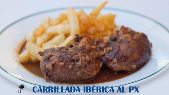 Restaurante Bar OÑA : Carrillada Ibérica al Pedro Ximénez