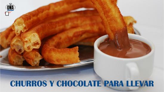 Restaurante Bar OÑA : Churros con Chocolate desde 1969
