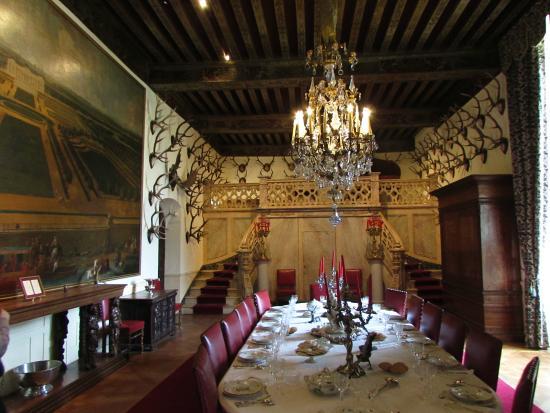 Chateau de Brissac: Sala da pranzo