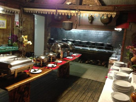 La Bonne Marmite: Le buffet créole