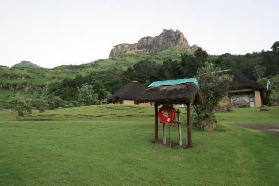 Thendele Hutted camp: uitzicht