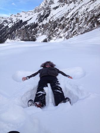 Hotel Caprice : Snow Angel!!