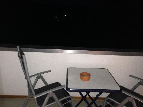 Hotel Sonneck: Balkon