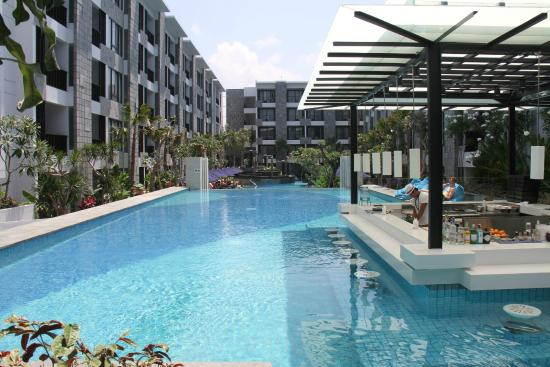 Pool picture of courtyard bali seminyak resort seminyak for Pool show perth 2015