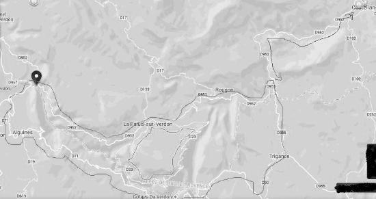 Alpes-de-Haute-Provence, Francia: Itinerari Gole Verdon