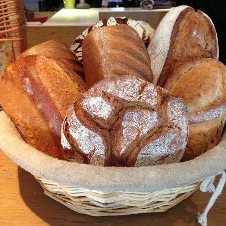 bread selections picture of la ruche rolleboise. Black Bedroom Furniture Sets. Home Design Ideas