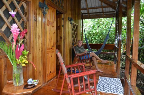 Coral Hill Bungalows: Mono Congo terasse