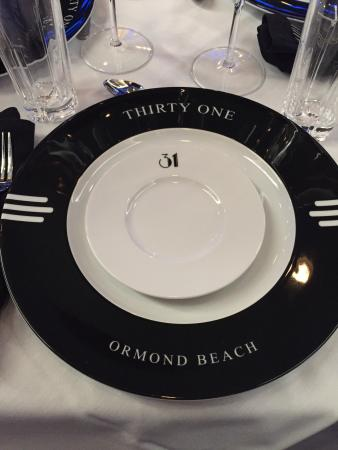 Custom Dinner Plates at 31 Supper Club & Custom Dinner Plates at 31 Supper Club - Picture of 31 Supper Club ...