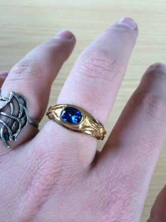 Jens Hansen Gold and Silversmith: Ring on my finger ;-)