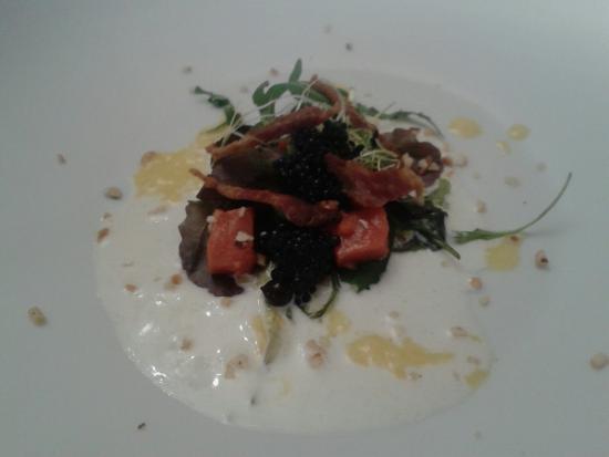 Antica Trattoria Semino: Cesar salad con caviale..semplicemente ottima.
