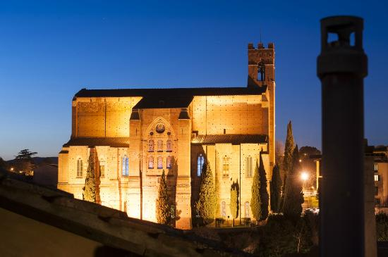 Il Battistero Siena B&B: View from Modern and Suite with terrace