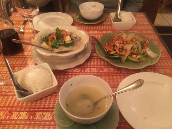 Thai NongKhai: Dinner combo for 2