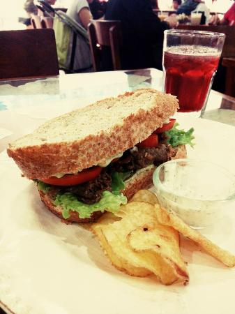 Cafe Mary Grace: Fili Beef and Tomatoes
