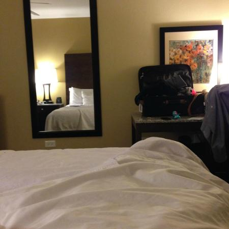 Homewood Suites by Hilton Coralville - Iowa River Landing: Very Comfortable beds!