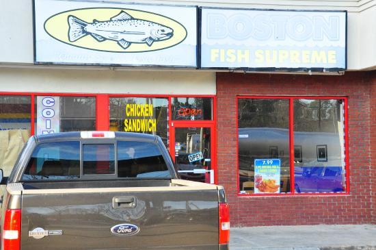 Boston supreme fish picture of boston fish supreme for Boston fish supreme menu