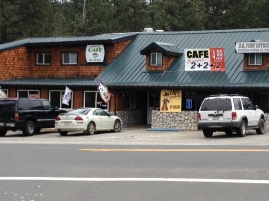 Mountain Center Cafe : Front Entry
