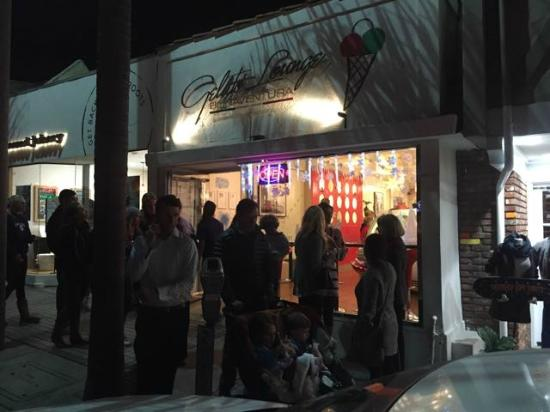 Bonaventura Gelato Lounge Manhattan Beach Ca