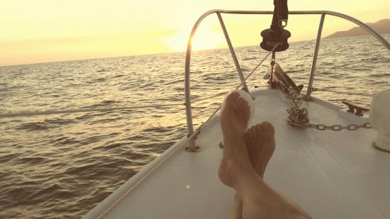Marauder Sailing Charters - Private Tours: This ocean air is great for my bunions!
