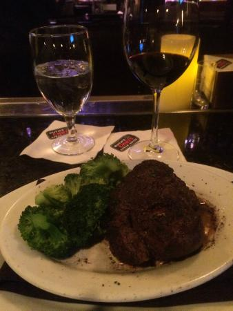 Ruth's Chris Steak House: Filet and Broccoli at Ruth's Chris