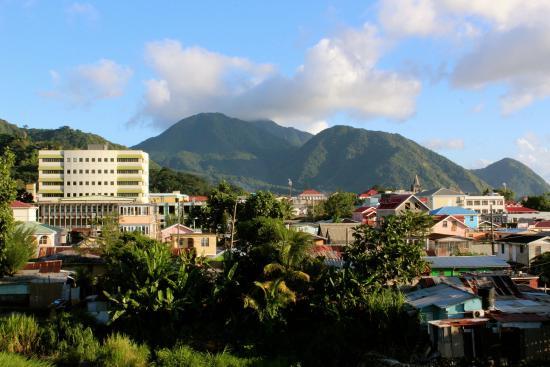 Narakiel's Inn: View of Mountains from Balcony