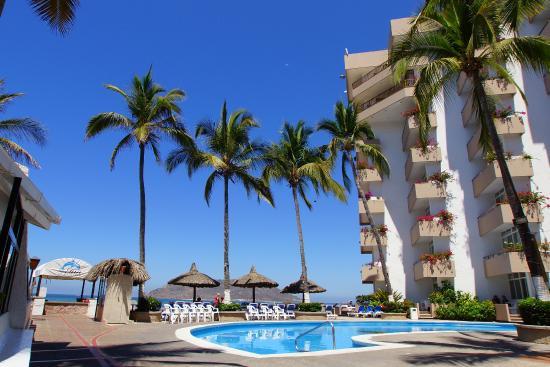 The Inn at Mazatlan: Vista del area de la Alberca