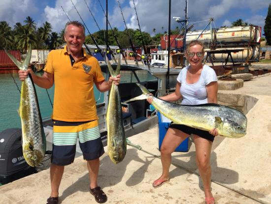 Black Pearl Charters: First time game fishing