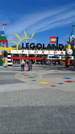 Winter Haven, Floride : Entrace at Legoland