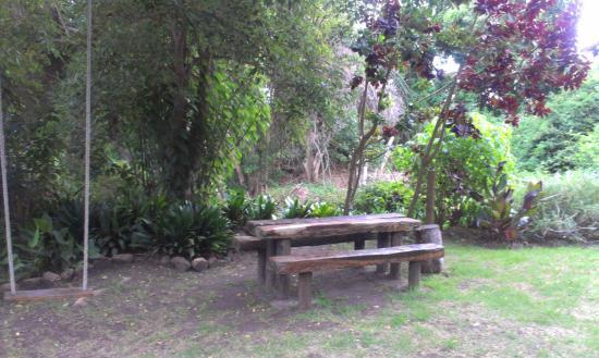 Limberlost : Outside sitting area