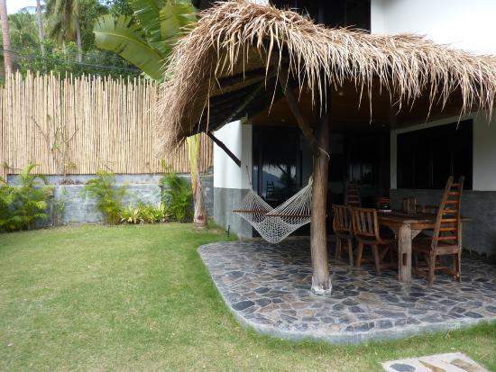 Koh Tao Heights Boutique Villas: Terrasse