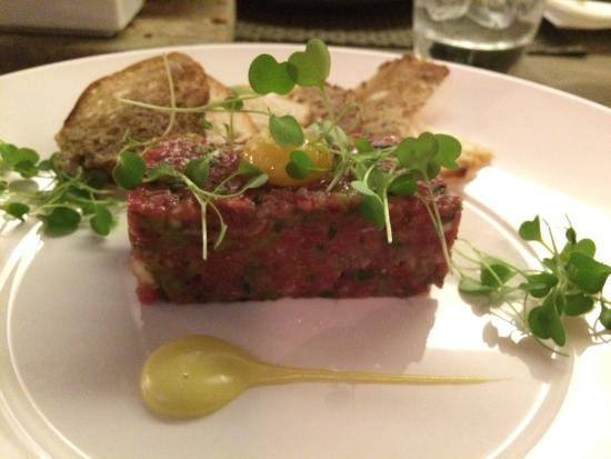 Angels With Bagpipes: Beef Tartare