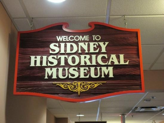 Sidney Museum & Archives: Signage