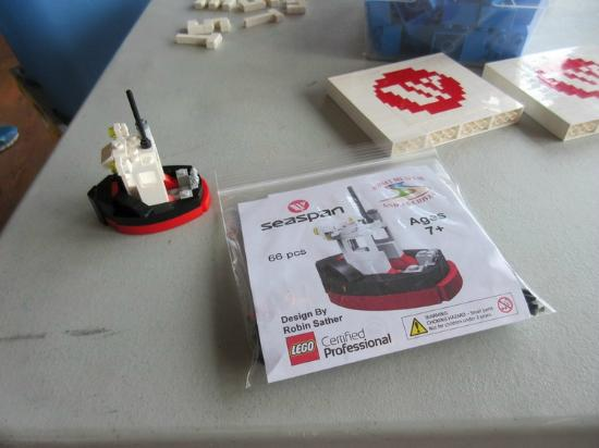 Sidney Museum & Archives: Lego Tug Boat