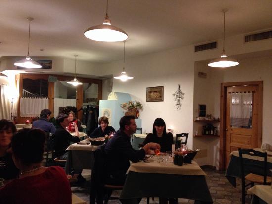 Hotel Locanda le Tre Oche : Il ristorante