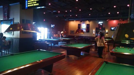 billiard's, beer, foodall good - review of jillian's, columbia