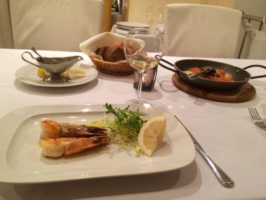 Ristorante Mare Azzuro: Очень вкусные креветки!