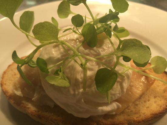 Benedicts of Whalley: healthy poached egg on gluten free bread
