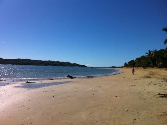 Corail Noir: la spiaggia