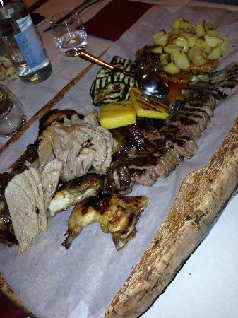 Istrana, Italia: Tagliata mokambo super
