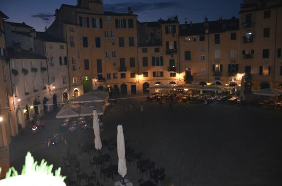 Night View From Balcony Of Anfiteatro Apartment Picture Of B B