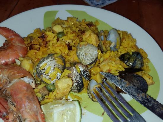 La Tasca de Baños: Paella de mariscos