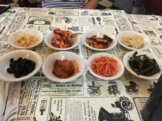 seoul garden kimchi - Seoul Garden Menu