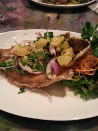Courtside Thai Cuisine: Trout the Thai style