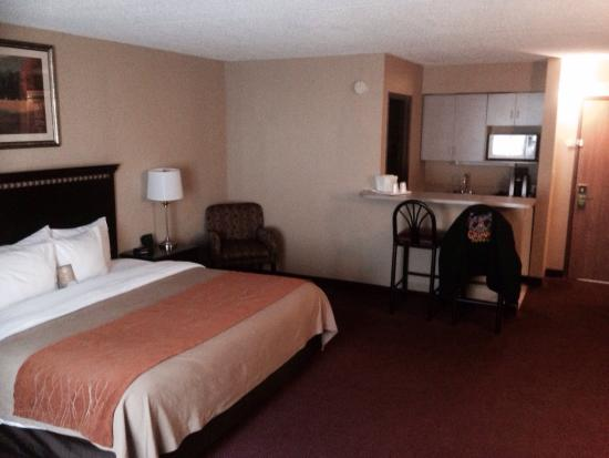 Comfort Inn: Nice large room
