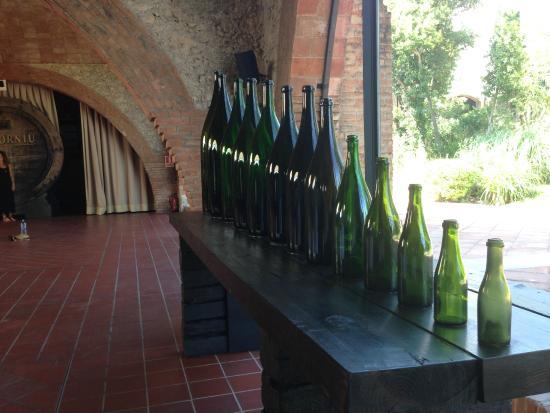 Bodegas Codorniu: Нестандартные бутылки