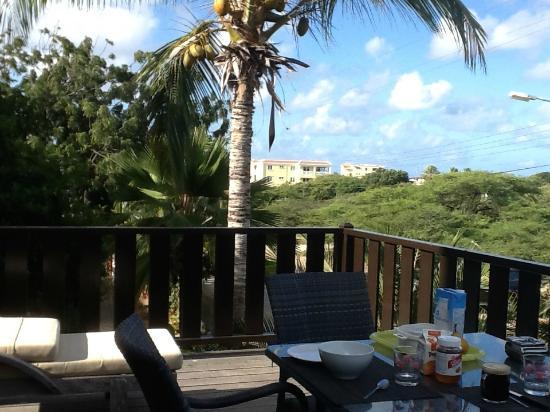 Ocean View Villas, Bonaire: la terrasse