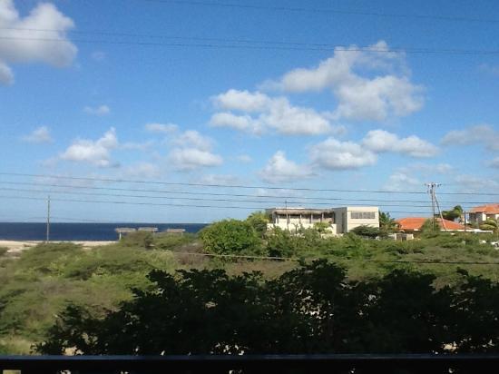 Ocean View Villas, Bonaire: vue sur mer