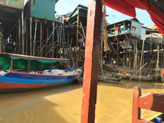 Siem Reap Taxi Service: Fishing Village
