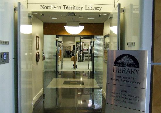 Northern Territory Library: Entry