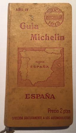 Tiene la cuarta edición de la guía michelin... Wow! Espectacular ...