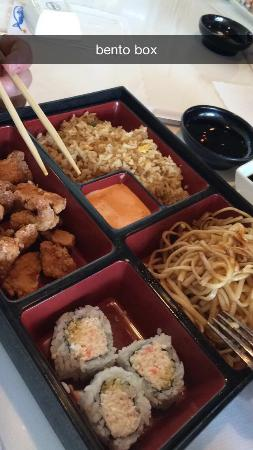 Bonsai Japanese Steakhouse: Bento Box